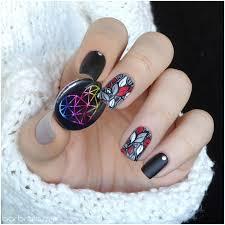 fall winter nail design nail art by barbrafeszyn nailpolis