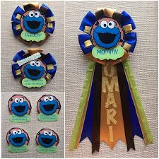 cookie monster baby shower cookie monster inspired baby shower corsage fast and free