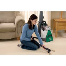 efficient cleaning with a bissell carpet cleaner and upright vacuum