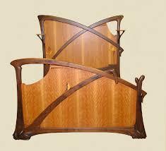 Architectural Interiors Art Nouveau Beds Doors Fireplace Mantels - Art deco bedroom furniture london