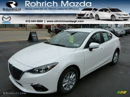 mazda 4 door cars 2014 snowflake white pearl mazda mazda3 i touring 4 door 87822051