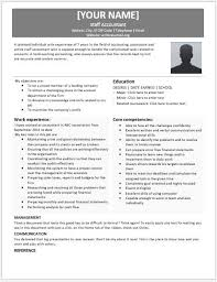 Accountant Resume Samples by Staff Accountant Resume Templates For Ms Word Resume Templates