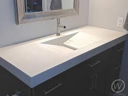 Concrete Vanity Concrete Sinks And Bathrooms For Texas Customcretewerks Inc