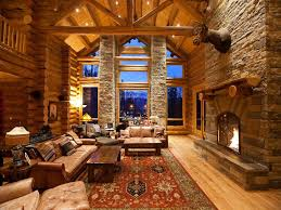 cabin style houses ski lodge style house and home design decorating ideas