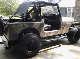 jeep camo 1994 jeep yj wrangler sport camo edition for sale crossville