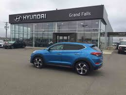 hyundai tucson 2016 grey grand falls hyundai demonstrator vehicles for sale in grand falls