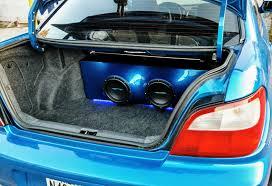subaru custom cars 2003 subaru impreza wrx custom box u2013 atomic car audio