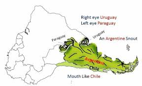 map of south america in learn the map of south america in a few minutes learnodo newtonic