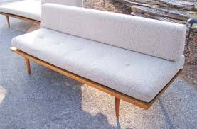Mid Century Daybed Mid Century Modern Custom Daybed Set With Perfect Vintage Fabric