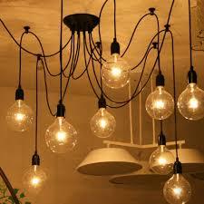 art modern industrial spider lamp 8 arms pendant lights vintage