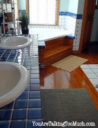 Bamboo Bath Rug Bamboo Flooring In Bathroom Homesfeed