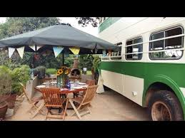 amazing two story bus converted into tiny house youtube