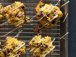 pumpkin cookies with dried fruit and pistachios recipe maggie