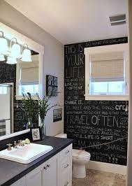 bathroom decor bathroom decor 21 unconventional chalkboard bathroom dacor ideas