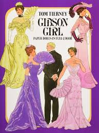 gibson paper dolls dover victorian paper dolls tom tierney
