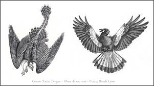 tattoo designs gryphon and magpie by windfalcon on deviantart