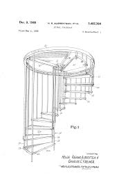 patent us3482364 spiral staircase google patents