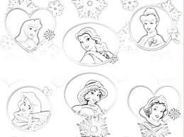 all disney princess free coloring pages on art coloring pages
