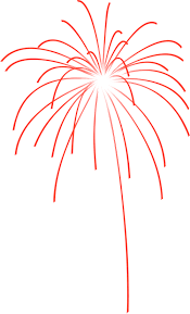 orange fireworks clipart clipartxtras