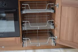 Pull Out Baskets For Kitchen Cabinets by Pull Out Wire Baskets Kitchen Larder Base Unit Cupboard Wardrobe