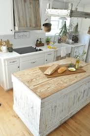 dreamy rustic white kitchen pottery barn blog like the
