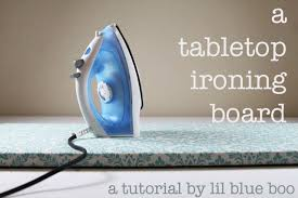 small table top ironing board a tabletop ironing board a tutorial
