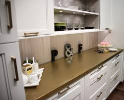 Plain Fancy Cabinetry Metal Countertops At The Architectural Digest Design Show 2016