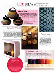 Homes And Interiors Scotland Basketbasket In The Press African Baskets For Photo Shoots