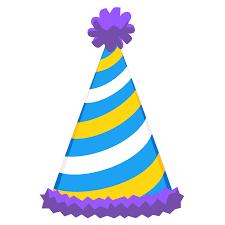 birthday hat sticker timeline birthday hat