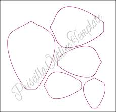 printable large flowers giant paper flowers giant paper flower templates instructions
