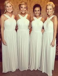 and white bridesmaid dresses best 25 bridesmaid dresses 100 ideas on