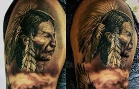 indian headdress tattoo on ribs 30 grand native american tattoos creativefan