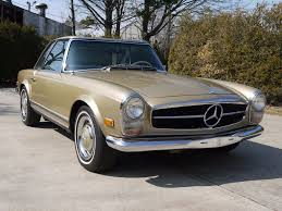 this 1967 mercedes benz 250sl is a three owner car with its