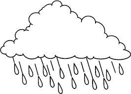 raindrop coloring sheets for children u2013 barriee