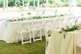 wedding table rentals s rentals kauai a kauai tent rental and party supply company