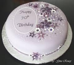 70th birthday cake ideas for female a birthday cake