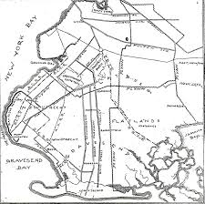 Street Map Of Queens New York by Brooklyn In The 19th Century Ephemeral New York