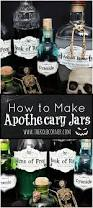 free printable halloween labels how to make apothecary jars and free printable labels