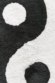 yin yang bath mat urban outfitters