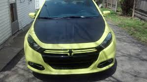 lime green dodge dart thoughts on these hoods