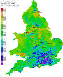 Liverpool England Map by Average House Prices In England U0026 Wales Map Ukpolitics
