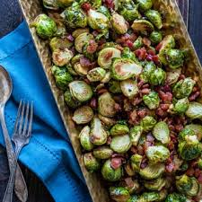 roasted brussels sprouts with bacon and balsamic eats