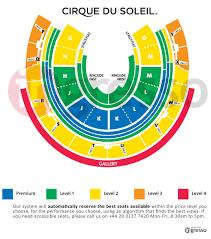 Royal Festival Hall Floor Plan Amaluna Cirque Du Soleil Tickets London From The Box Office