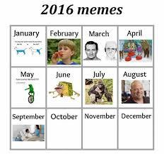 Meme Calendar - the meme calendar