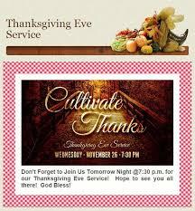 thanksgiving service wednesday november 26 2014 bethel