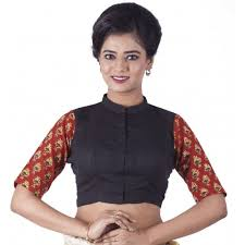 blouse band buy rene band collar s stitched blouse looksgud in