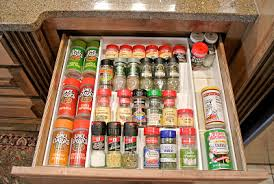 In Drawer Spice Racks Organizing U0026 Storing Spices Ideas U0026 Solutions For Your Kitchen