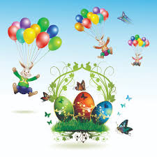 easter cards and decorations butterfly eggs 03 vector free vector