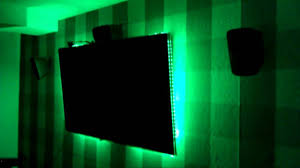 noninvasive ambilight and room led system arduino one tv remote