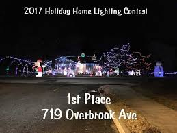 christmas lights in south jersey millville s 2017 holiday home lighting contest winners south